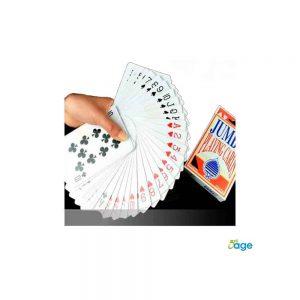 קלפי משחק פלסטיק ג'מבו