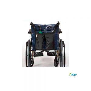 תיק נשיאה למיכל חמצן לכיסא גלגלים