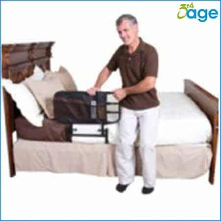 מעקה בטיחות למיטה מתכווננת