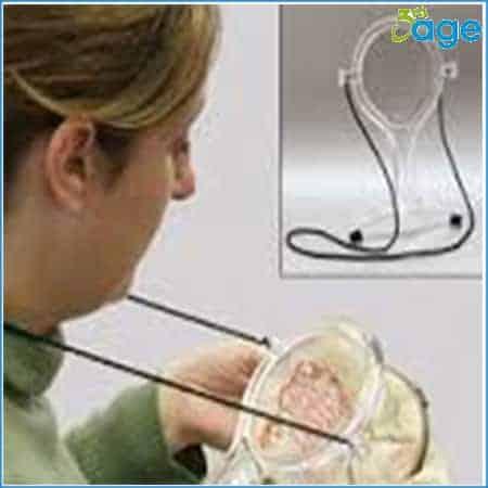 זכוכית מגדלת לתלייה על הצוואר