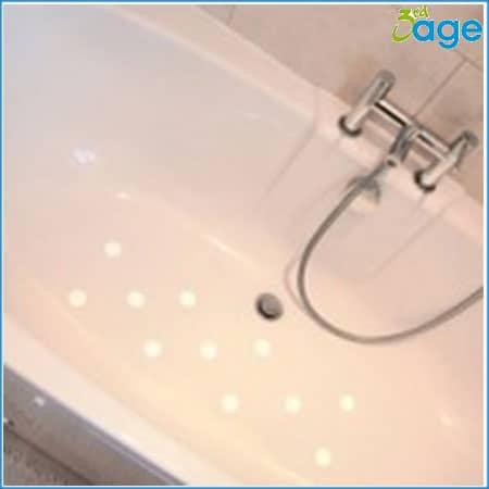 מדבקות נגד החלקה לאמבטיה ולמקלחת