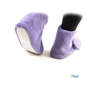 נעליים מחממות לרגליים נפוחות