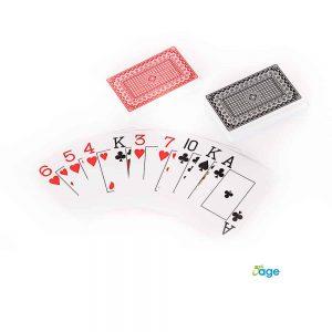 זוג קלפים מספרים גדולים לכבדי ראיה
