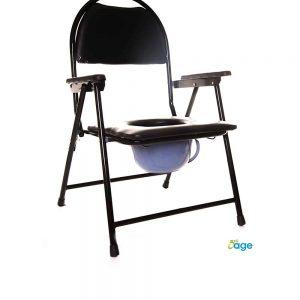 כסא רחצה ושירותים עם ידיות