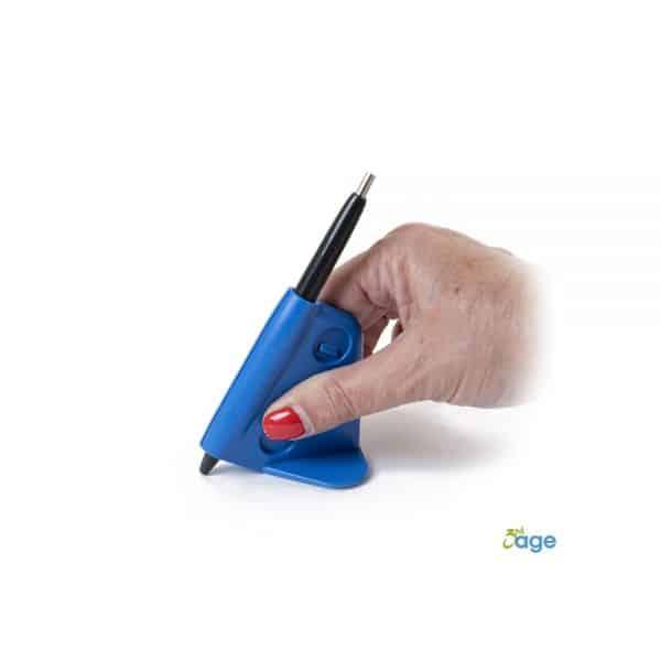 עזר להחזיק כלי כתיבה